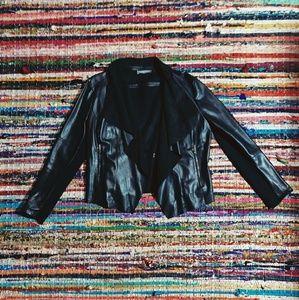 Jackets & Blazers - 🐺 Vegan Leather Moto Jacket 🐺